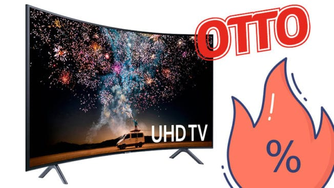 Curved-LED-TV bei Otto