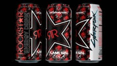 Cyberpunk 2077 Rockstar Energy