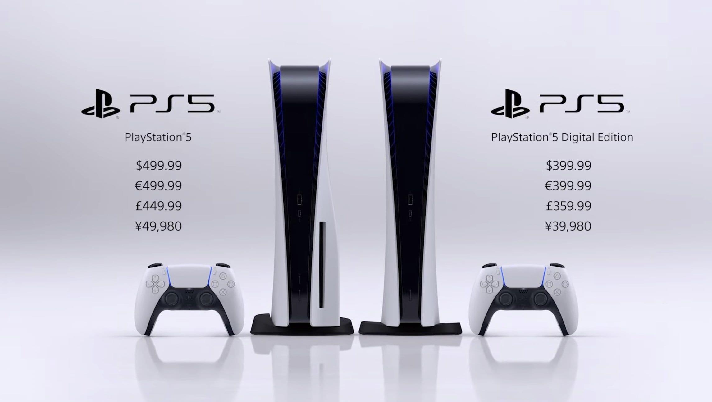 PS5 Preis offiziell bekannt