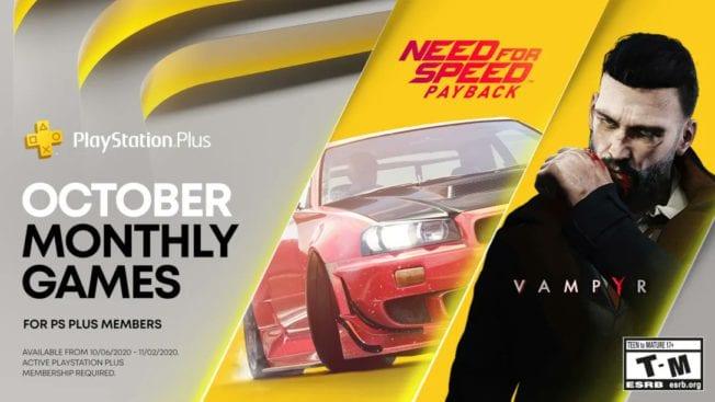 PS Plus Games im Oktober 2020