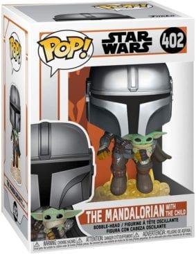 Funko-POP 402 The-Mandalorian + The Child 1