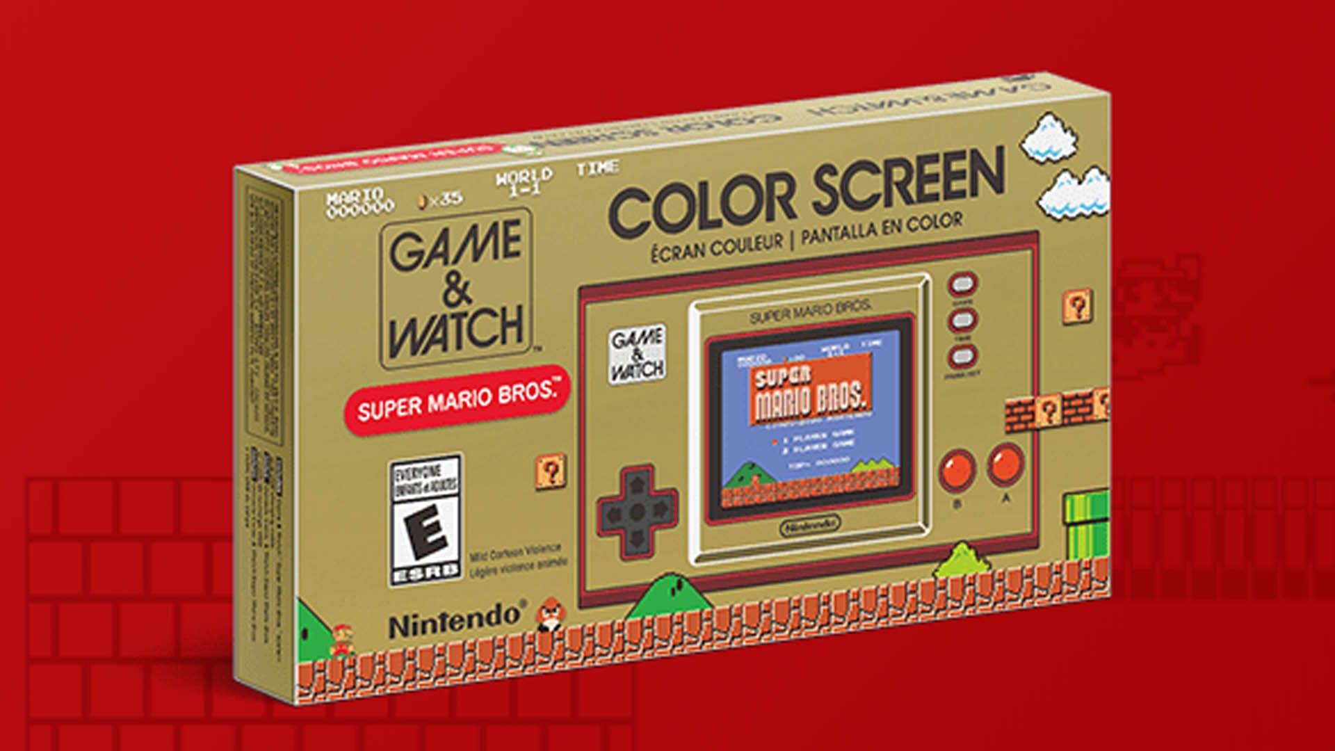 Game & Watch Super Mario Bros. - Nintendo