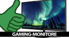 Gaming-Monitore 2020 besten