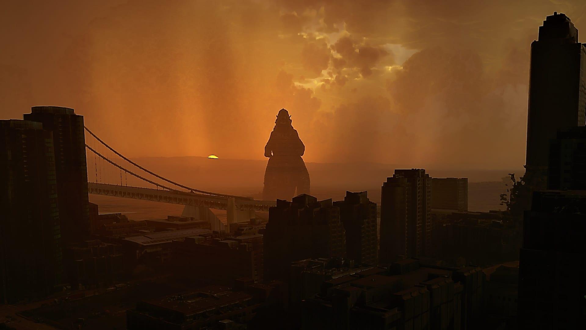Godzilla wird Teil von San Francisco