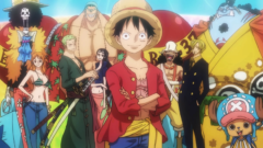 One Piece, Anime, Strohhut-Piratenbande