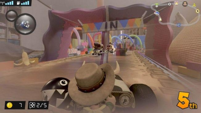 Mario Kart Live Home Circuit Luigi als Cowboy