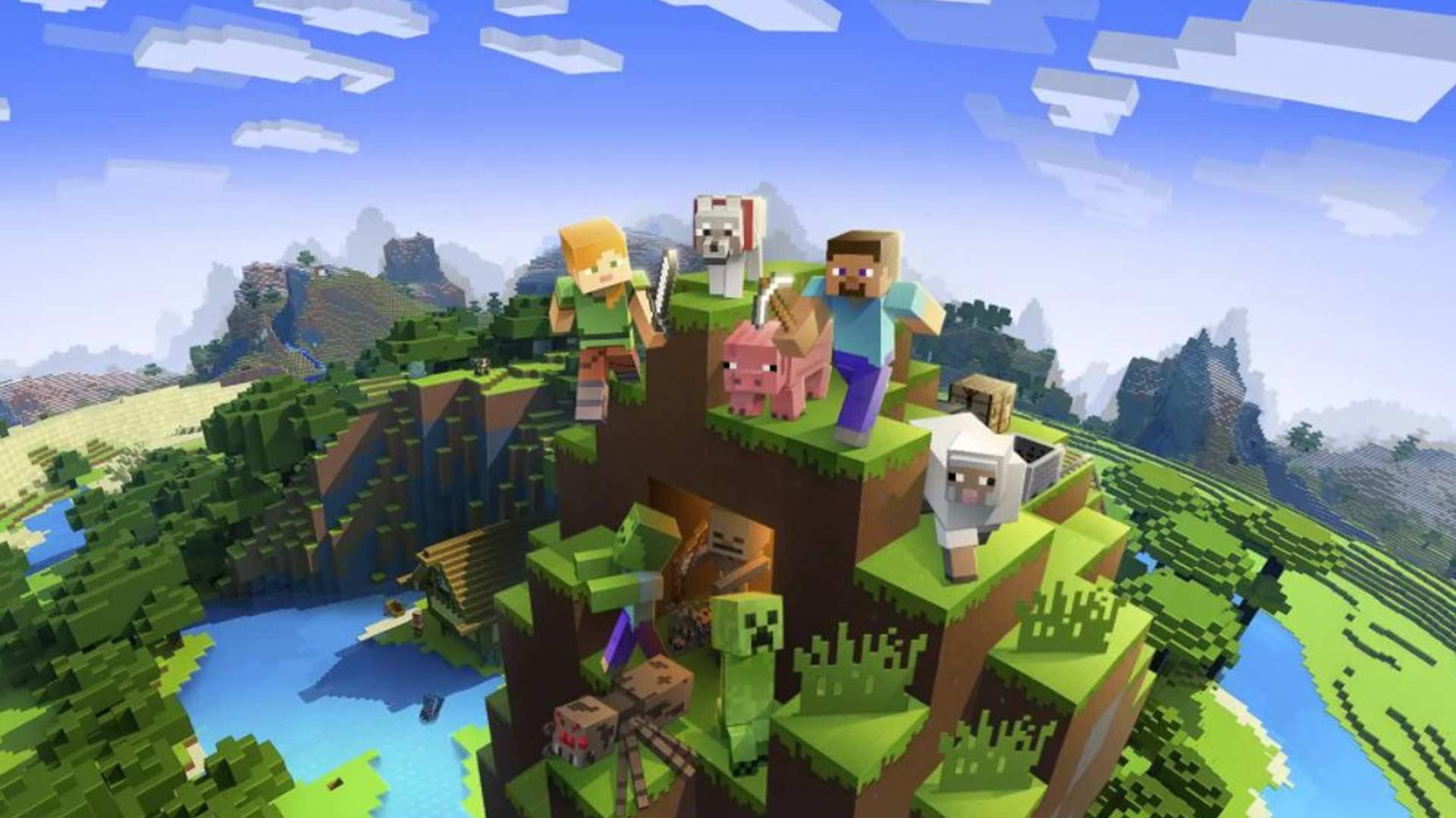 Minecraft ab heute kostenlos auf PlayStation VR spielbar