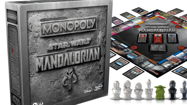 Monoply Star Wars The Mandalorian