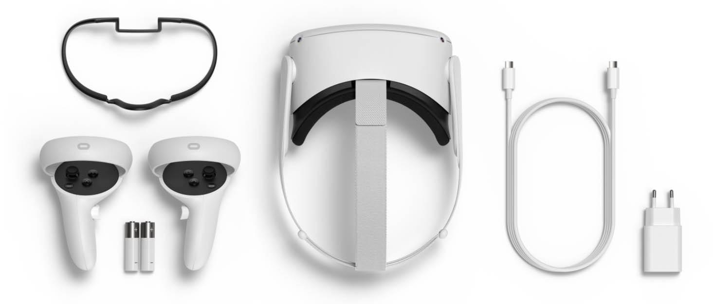 Oculus Quest 2 - Lieferumfang in der Box