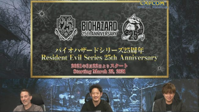 Resident Evil Serie Anniversary 25