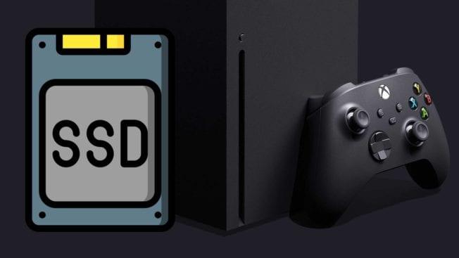 SSD der Xbox Series X