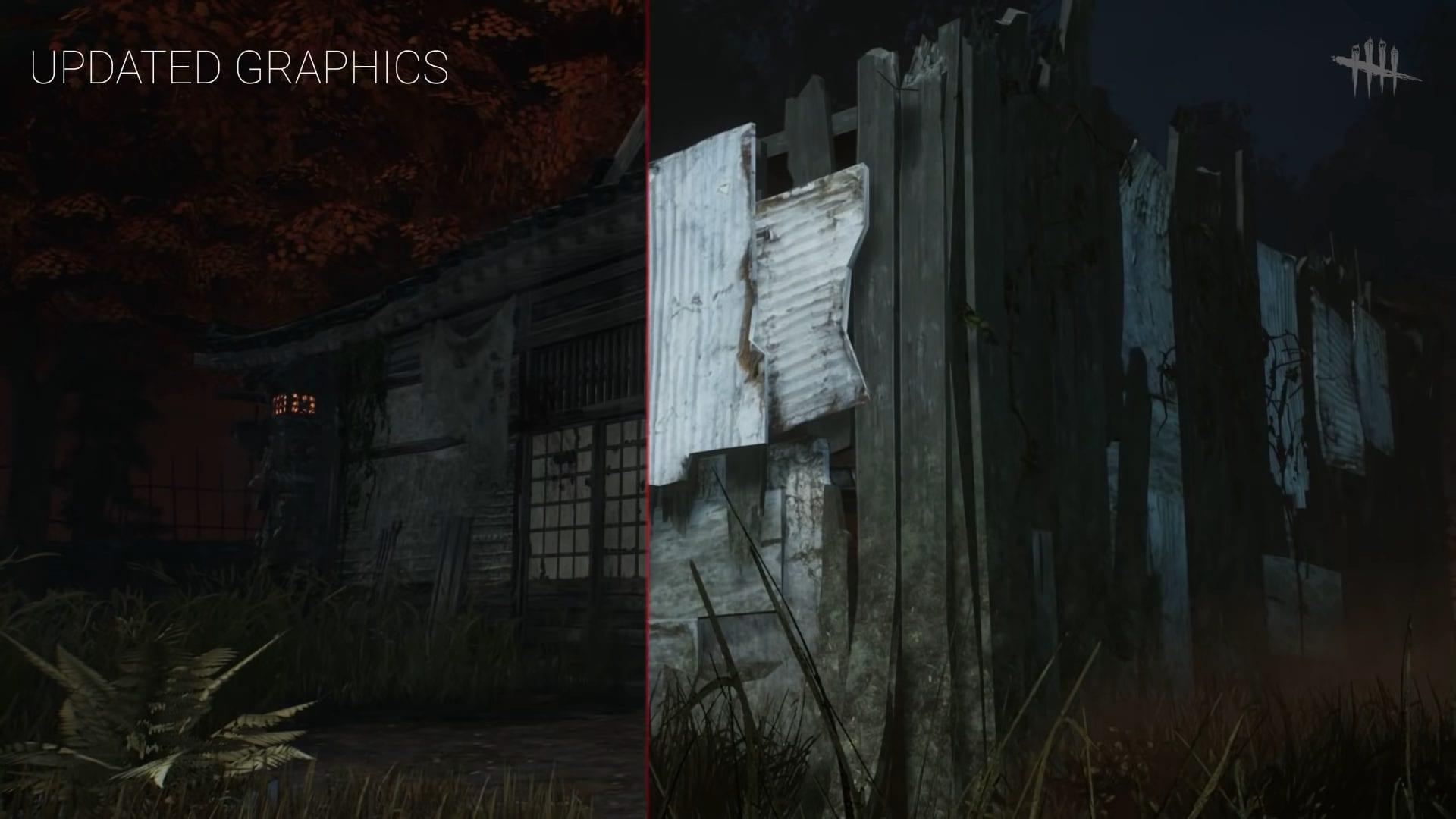 Dead by Daylight Grafik Unterschied