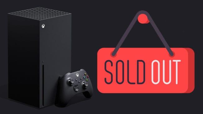 Xbox Series X - ausverkauft