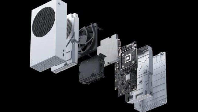 Xbox Series S Innenleben
