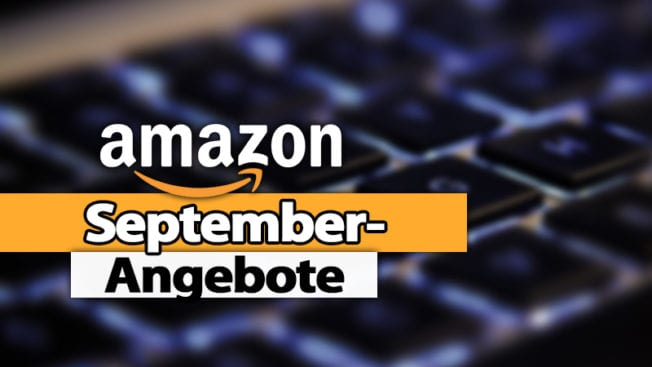September Angebote bei Amazon