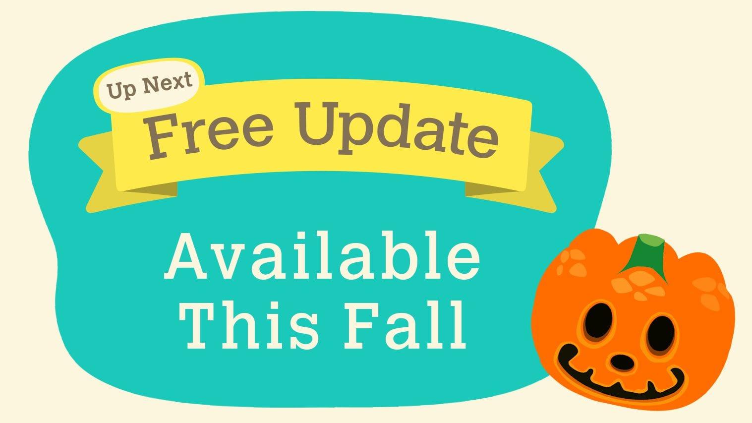 Animal Crossing New Horizons Herbst kostenloses Update