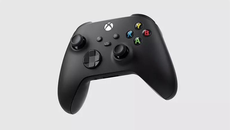 Xbox Series X Wireless Controller in Schwarz