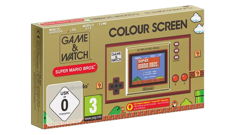 Game & Watch: Super Mario Bros. Nintendo Pre-Order