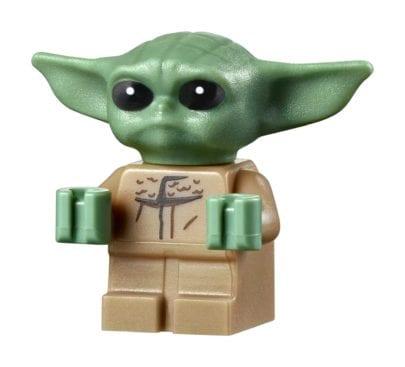 Lego Star Wars - Baby Yoda Minifigur als Bauset 75318
