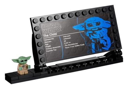 Lego Star Wars Display - Baby Yoda als Bauset 75318