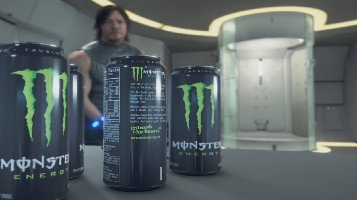Death Stranding Monster Energy