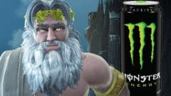 Immortals: Fenyx Rising Monster Energy