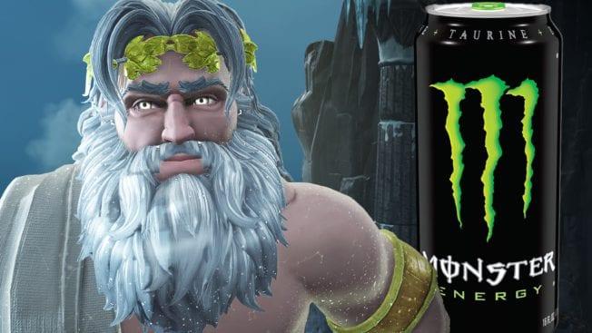 Immortals: Fenyx Rising Monster Energy