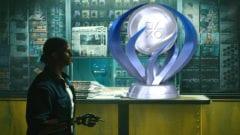 Cyberpunk 2077 PS4 Trophäe Platin