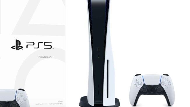 PS5 Box Verpackung Design