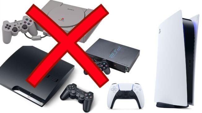 PS5 Abwärtskompatibilität alter PlayStations