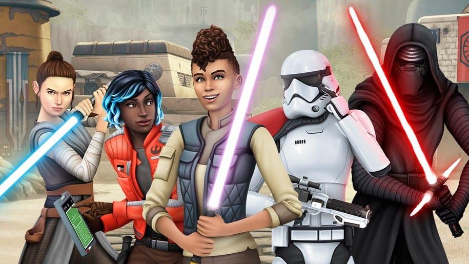 Die Sims 4 Reise nach Batuu Star Wars