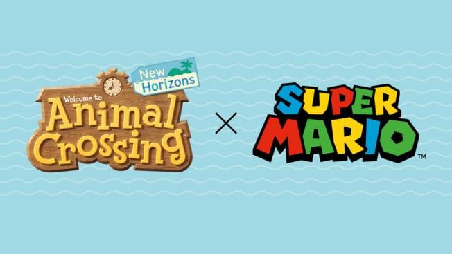 Animal Crossing New Horizons Super Mario Crossover