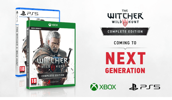 The Witcher 3 Xbox Series X PS5