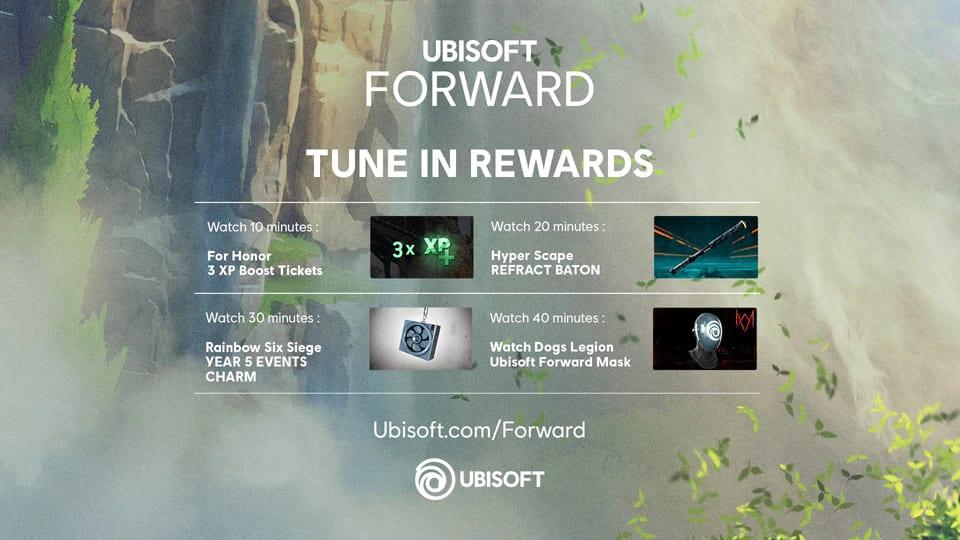 Ubi Forward Rewards