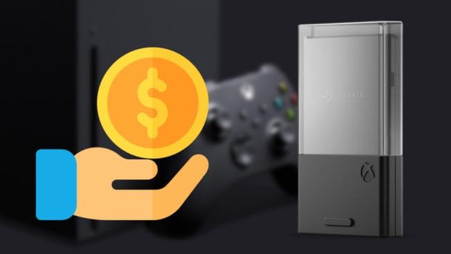 Xbox Series X - Erweiterungskarte