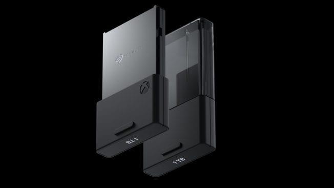 Xbox Series X Series Specihererweiterung von Seagate