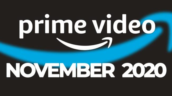 Amazon Prime Video November 2020 neu