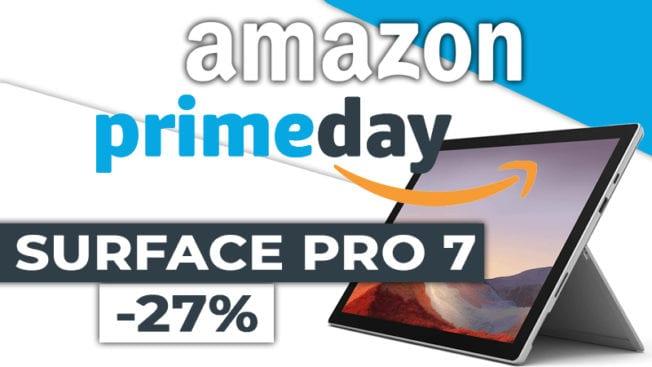 Amazon Prime Day 2020 Microsoft Surface Pro 7