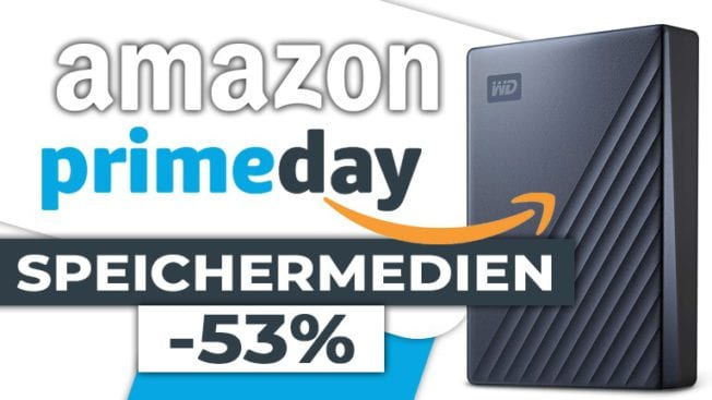 Amazon Prime Day Speicher Festplatte SSD