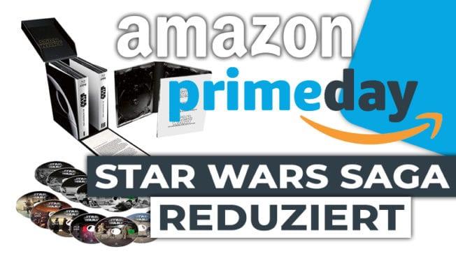 Amazon Prime Day Star Wars Skywalker Saga Blu-Ray
