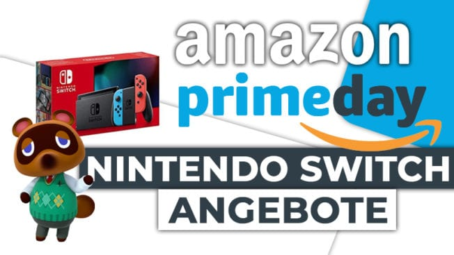 Amazon Prime Day 2020 Nintendo Switch Angebote