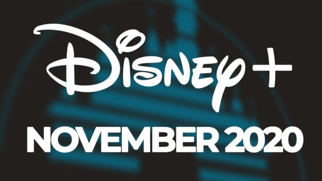 Disney Plus November 2020 Neuheiten
