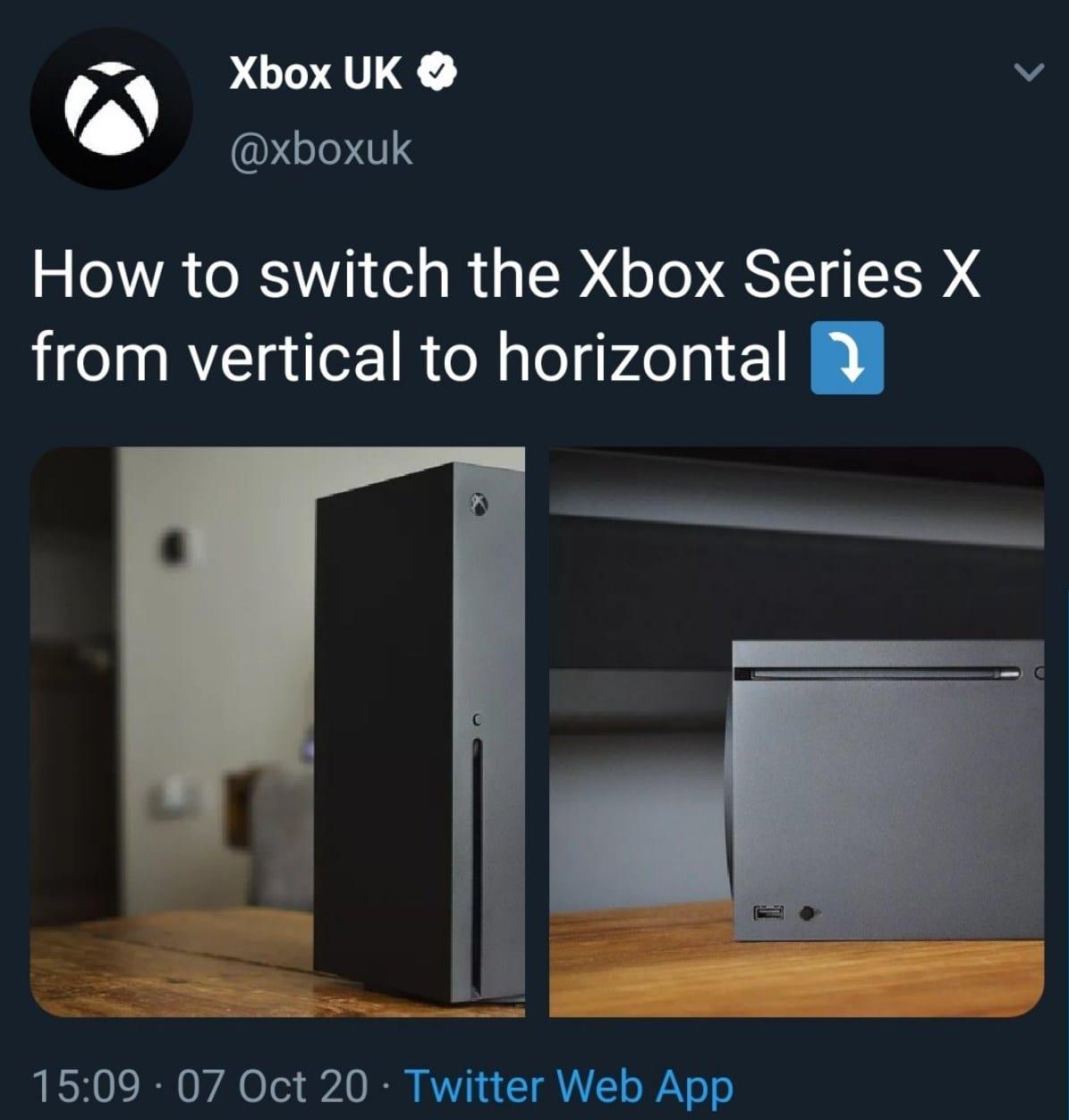 Xbox Series X - Scherz