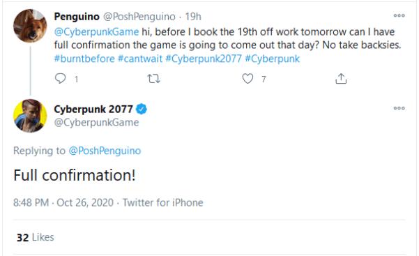 Cyberpunk 2077 Release verschoben.