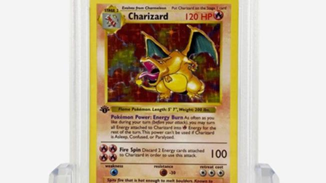 Glurak seltene Pokémon-Karte -