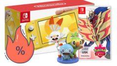 Otto Nintendo Switch Lite Angebot mit Pokémon Schild