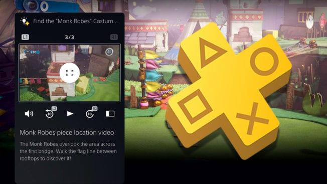 PS5 - PS Plus Spielhilfen