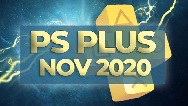 PS Plus November 2020