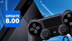 PS4 Firmware Update 8.00