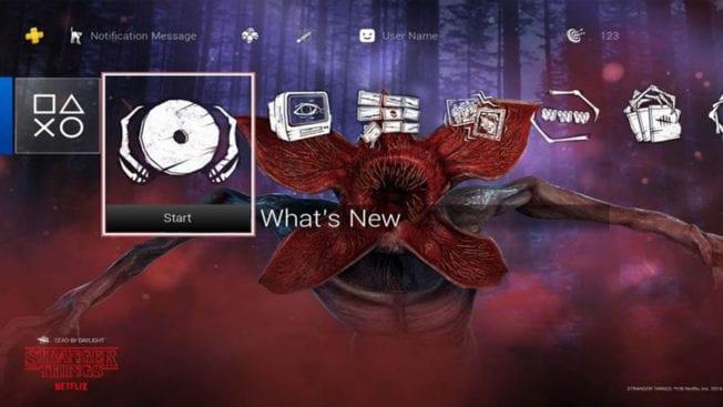 PS5 Stranger Things Design
